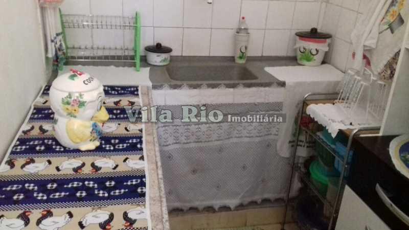 COZINHA 3 - Casa 4 quartos à venda Braz de Pina, Rio de Janeiro - R$ 298.000 - VCA40026 - 22