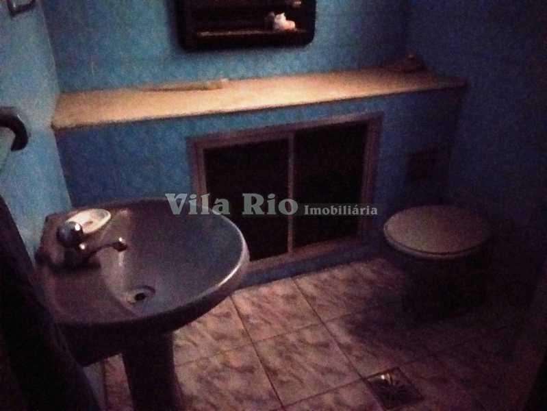 BANHEIRO CASA DE BAIXO 1 - Casa 2 quartos à venda Vicente de Carvalho, Rio de Janeiro - R$ 280.000 - VCA20036 - 11