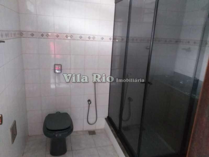 BANHEIRO CASA DE CIMA - Casa 2 quartos à venda Vicente de Carvalho, Rio de Janeiro - R$ 280.000 - VCA20036 - 13