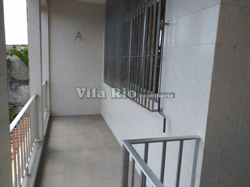 VARANDA CASA DE CIMA 1 - Casa 2 quartos à venda Vicente de Carvalho, Rio de Janeiro - R$ 280.000 - VCA20036 - 27