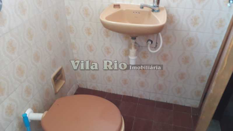 Banheiro de serviço - Apartamento À Venda - Vila da Penha - Rio de Janeiro - RJ - VAP30118 - 11