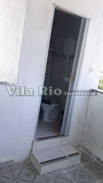 Banheiro do terrraço - Apartamento À Venda - Vila da Penha - Rio de Janeiro - RJ - VAP30118 - 12