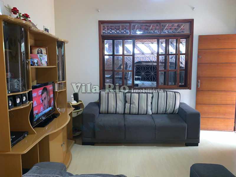 SALA 1. - Casa Irajá,Rio de Janeiro,RJ À Venda,2 Quartos,90m² - VCA20038 - 1