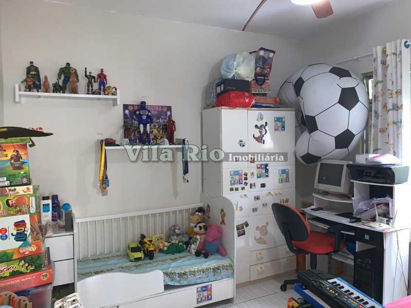QUARTO 1. - Casa Irajá,Rio de Janeiro,RJ À Venda,2 Quartos,90m² - VCA20038 - 9
