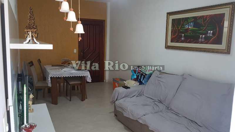SALA1.1 - Apartamento À Venda - Irajá - Rio de Janeiro - RJ - VAP20409 - 3