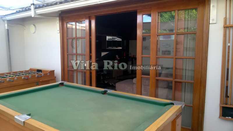 SALA DE JOGOS - Casa Irajá, Rio de Janeiro, RJ À Venda, 3 Quartos, 250m² - VCA30040 - 8