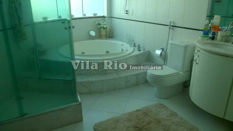 BANHEIRO 1 - Casa Irajá, Rio de Janeiro, RJ À Venda, 3 Quartos, 250m² - VCA30040 - 17