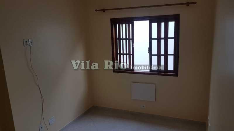 QUARTO 3 - Casa em Condomínio 2 quartos para alugar Vicente de Carvalho, Rio de Janeiro - R$ 1.200 - VCN20024 - 9