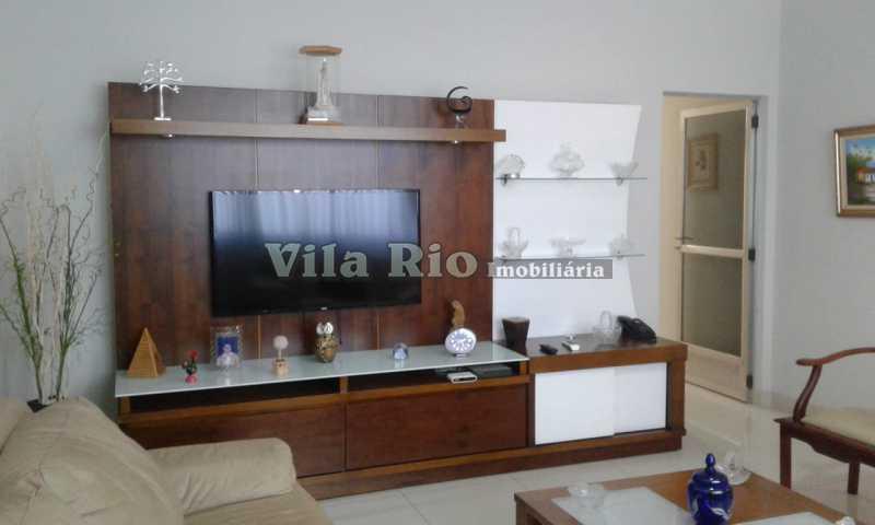 SALA 1 - Casa 3 quartos à venda Vista Alegre, Rio de Janeiro - R$ 980.000 - VCA30042 - 3
