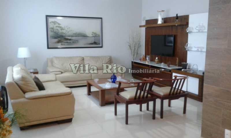SALA - Casa 3 quartos à venda Vista Alegre, Rio de Janeiro - R$ 980.000 - VCA30042 - 1
