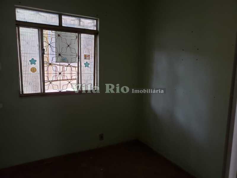 QUARTO 2 - Casa 2 quartos à venda Honório Gurgel, Rio de Janeiro - R$ 250.000 - VCA20040 - 4