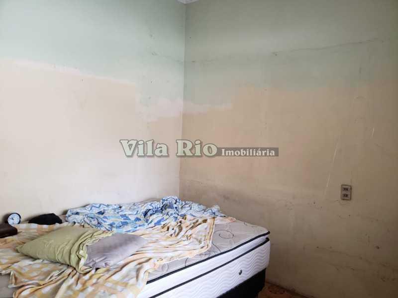 QUARTO 3 - Casa 2 quartos à venda Honório Gurgel, Rio de Janeiro - R$ 250.000 - VCA20040 - 5