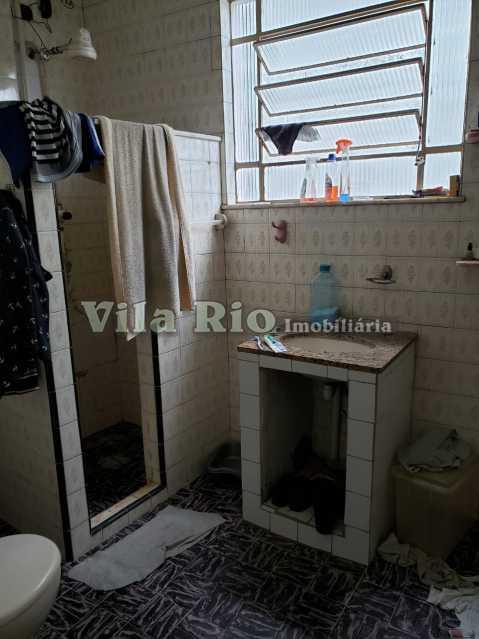 BANHEIRO 1 - Casa 2 quartos à venda Honório Gurgel, Rio de Janeiro - R$ 250.000 - VCA20040 - 7
