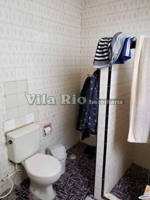 BANHEIRO 2 - Casa 2 quartos à venda Honório Gurgel, Rio de Janeiro - R$ 250.000 - VCA20040 - 8