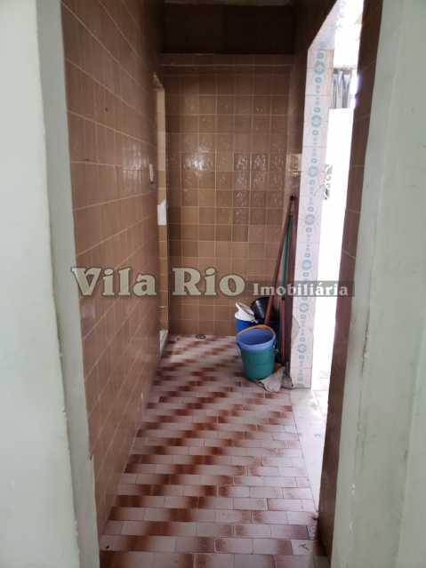 CIRCULAÇÃO - Casa 2 quartos à venda Honório Gurgel, Rio de Janeiro - R$ 250.000 - VCA20040 - 9