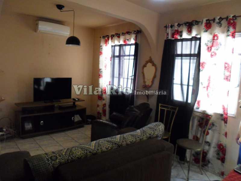 SALA 2 - Casa de Vila 3 quartos à venda Vila da Penha, Rio de Janeiro - R$ 350.000 - VCV30006 - 1