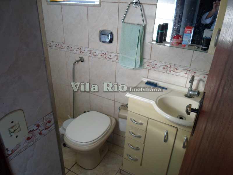 BANHEIRO - Casa de Vila 3 quartos à venda Vila da Penha, Rio de Janeiro - R$ 350.000 - VCV30006 - 10