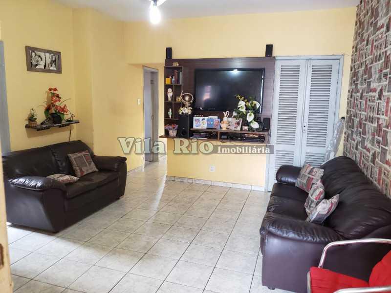 SALA 2 - Casa 3 quartos à venda Braz de Pina, Rio de Janeiro - R$ 530.000 - VCA30043 - 1