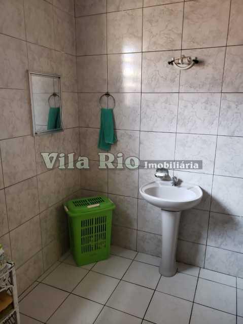 BANHEIRO 2 - Casa 3 quartos à venda Braz de Pina, Rio de Janeiro - R$ 530.000 - VCA30043 - 9