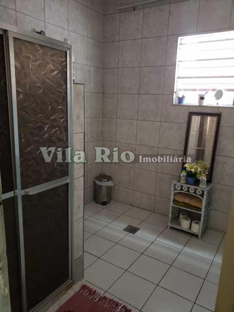 BANHEIRO - Casa 3 quartos à venda Braz de Pina, Rio de Janeiro - R$ 530.000 - VCA30043 - 10