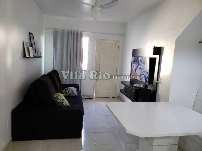 SALA 1 - Apartamento 2 quartos à venda Rocha Miranda, Rio de Janeiro - R$ 250.000 - VAP20438 - 1