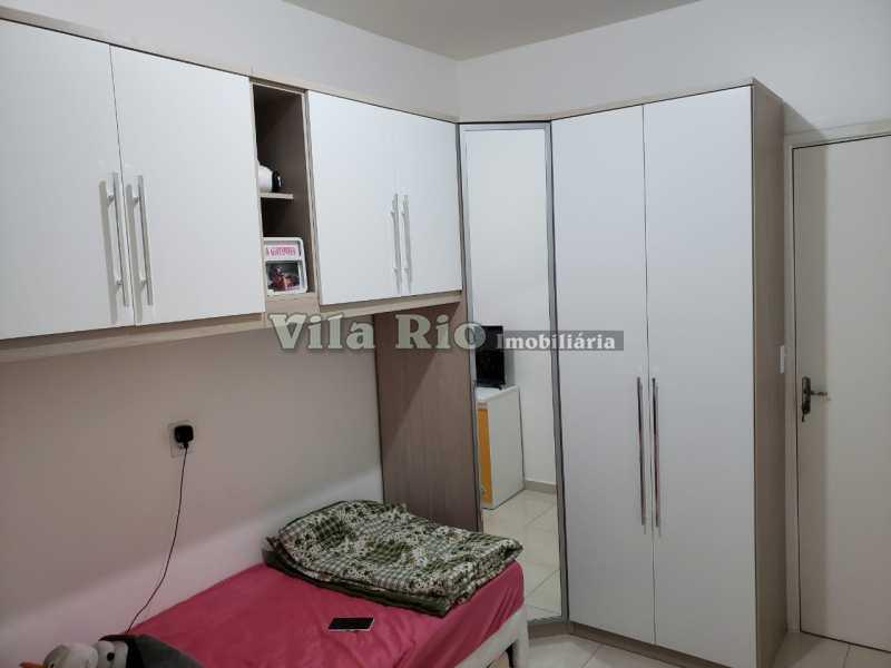 QUARTO 1 - Apartamento 2 quartos à venda Rocha Miranda, Rio de Janeiro - R$ 250.000 - VAP20438 - 4