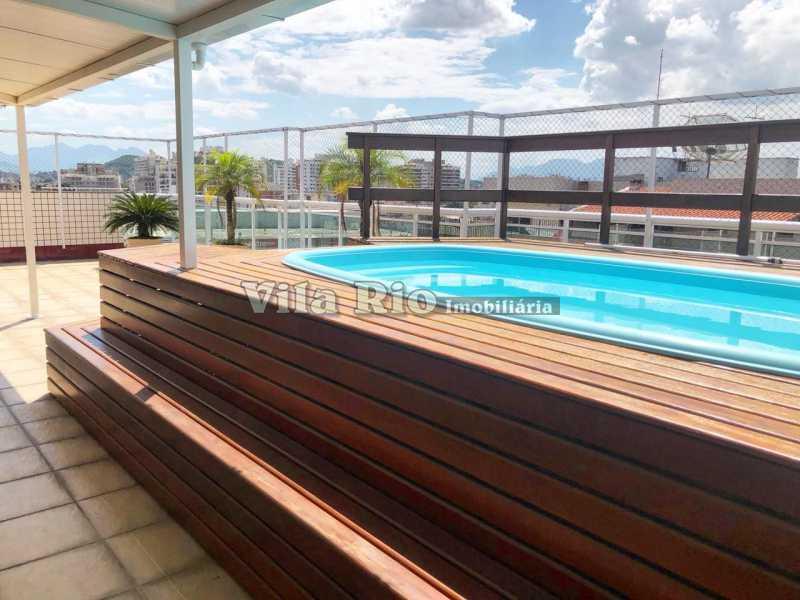 Área da piscina .1 - Cobertura 4 quartos à venda Vila da Penha, Rio de Janeiro - R$ 1.280.000 - VCO40003 - 1
