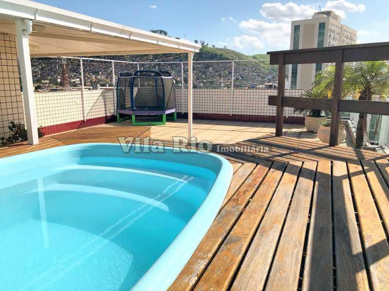Área da piscina - Cobertura 4 quartos à venda Vila da Penha, Rio de Janeiro - R$ 1.280.000 - VCO40003 - 3