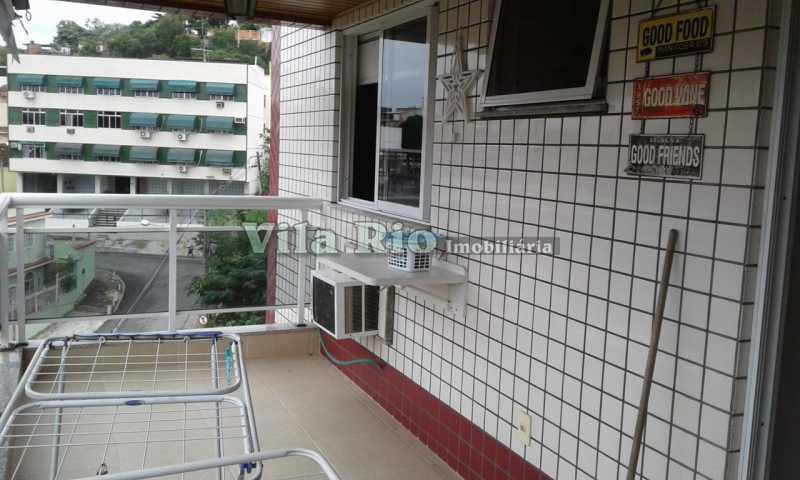 VARANDA 1. - Apartamento 3 quartos à venda Vista Alegre, Rio de Janeiro - R$ 750.000 - VAP30129 - 20