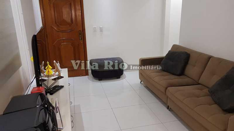 SALA 1. - Apartamento 1 quarto à venda Vila da Penha, Rio de Janeiro - R$ 268.000 - VAP10041 - 4