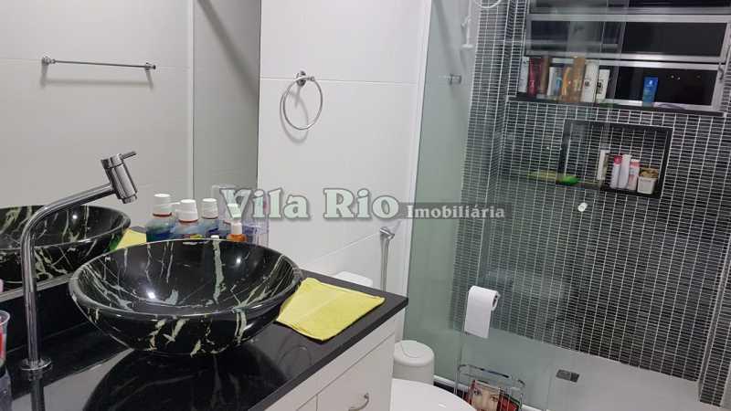 BANHEIRO 2. - Apartamento 1 quarto à venda Vila da Penha, Rio de Janeiro - R$ 268.000 - VAP10041 - 12