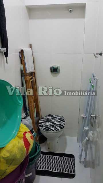 BANHEIRO SERVIÇO. - Apartamento 1 quarto à venda Vila da Penha, Rio de Janeiro - R$ 268.000 - VAP10041 - 13