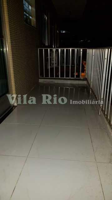 VARANDA. - Apartamento 1 quarto à venda Vila da Penha, Rio de Janeiro - R$ 268.000 - VAP10041 - 18