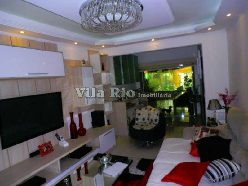 SALA 2 - Casa 3 quartos à venda Vista Alegre, Rio de Janeiro - R$ 1.100.000 - VCA30048 - 1