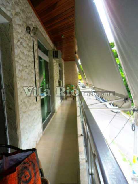 VARANDA 3 - Casa 3 quartos à venda Vista Alegre, Rio de Janeiro - R$ 1.100.000 - VCA30048 - 18
