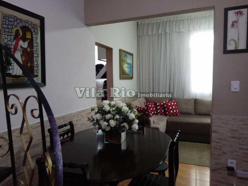SALA 1 - Casa 4 quartos à venda Vista Alegre, Rio de Janeiro - R$ 595.000 - VCA40029 - 4