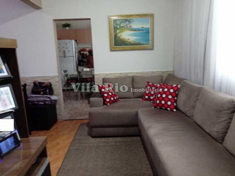 SALA 2 - Casa 4 quartos à venda Vista Alegre, Rio de Janeiro - R$ 595.000 - VCA40029 - 5