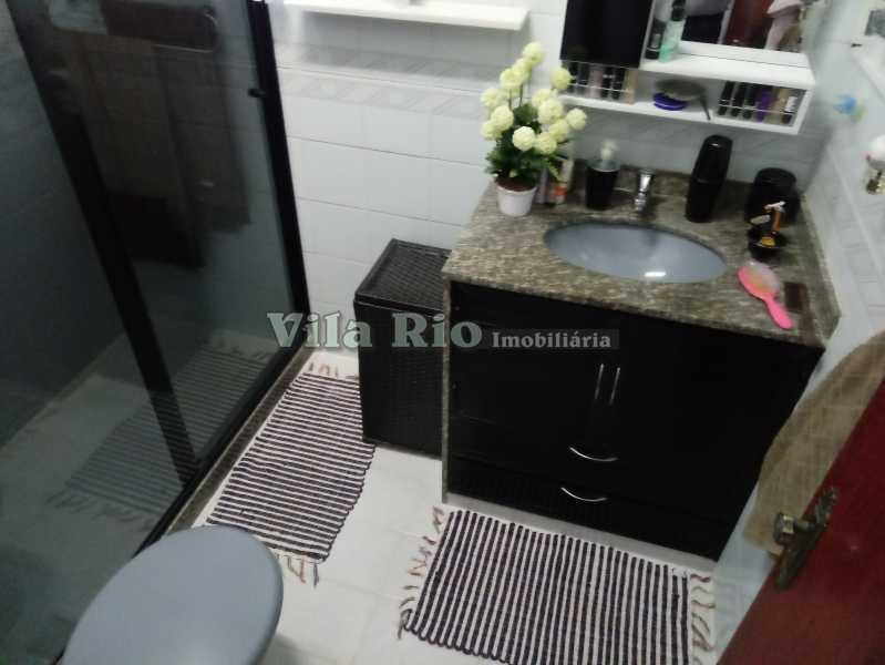 BANHEIRO 1 - Casa 4 quartos à venda Vista Alegre, Rio de Janeiro - R$ 595.000 - VCA40029 - 14
