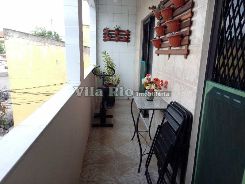 VARANDA 1 - Casa 4 quartos à venda Vista Alegre, Rio de Janeiro - R$ 595.000 - VCA40029 - 29