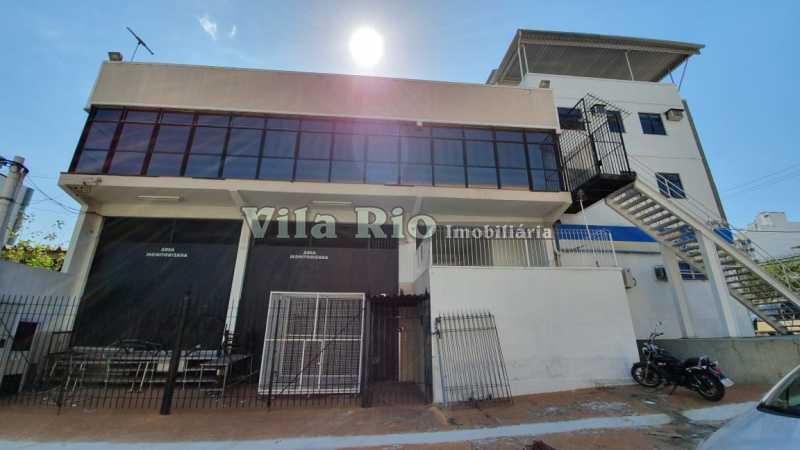 Fachada 1 - Galpão 500m² à venda Vila da Penha, Rio de Janeiro - R$ 2.500.000 - VGA00017 - 1