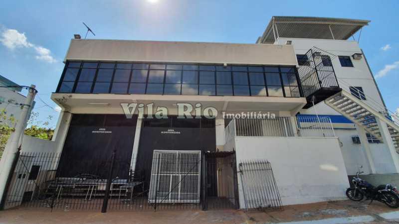 Fachada Frontal - Galpão 500m² à venda Vila da Penha, Rio de Janeiro - R$ 2.500.000 - VGA00017 - 3