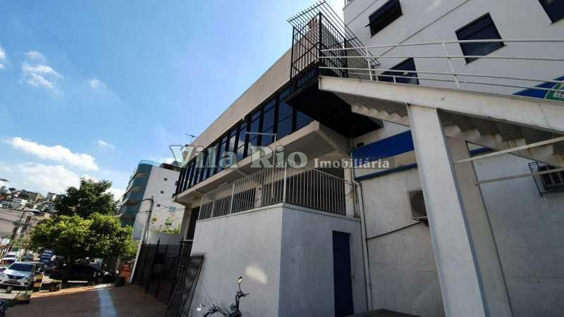 Fachada Lateral - Galpão 500m² à venda Vila da Penha, Rio de Janeiro - R$ 2.500.000 - VGA00017 - 4