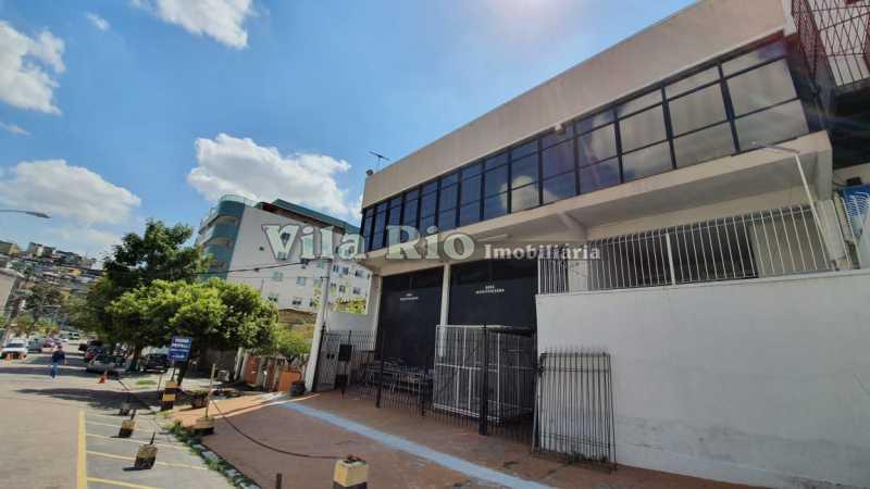 Fachada - Galpão 500m² à venda Vila da Penha, Rio de Janeiro - R$ 2.500.000 - VGA00017 - 5