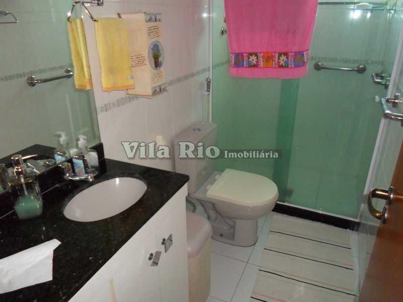 BANHEIRO 1 - Cobertura Vila da Penha, Rio de Janeiro, RJ À Venda, 3 Quartos, 116m² - VCO30011 - 11