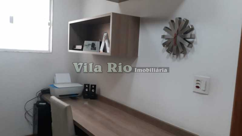 QUARTO - Cobertura 4 quartos à venda Irajá, Rio de Janeiro - R$ 600.000 - VCO40004 - 13