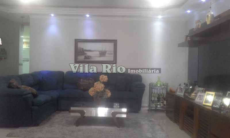 SALA 2. - Casa 5 quartos à venda Vila da Penha, Rio de Janeiro - R$ 1.290.000 - VCA50007 - 3