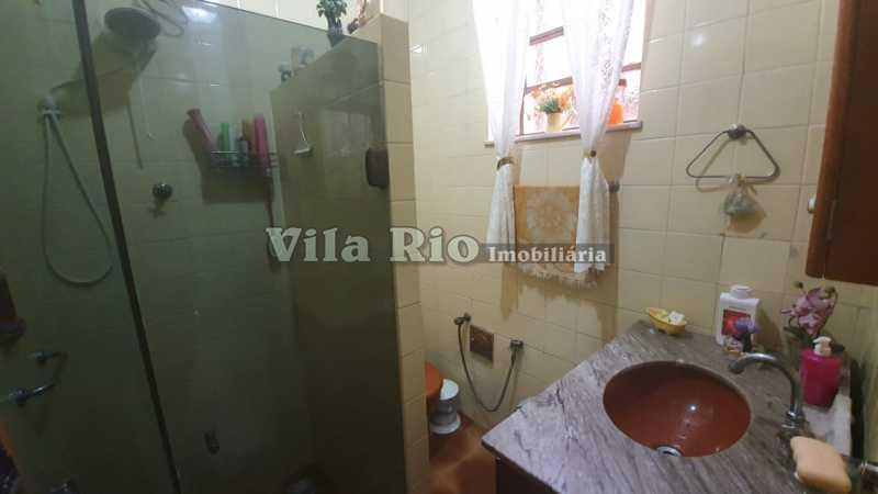 Banheiro - Apartamento 2 Quartos À Venda Vila Kosmos, Rio de Janeiro - R$ 280.000 - VAP20478 - 5