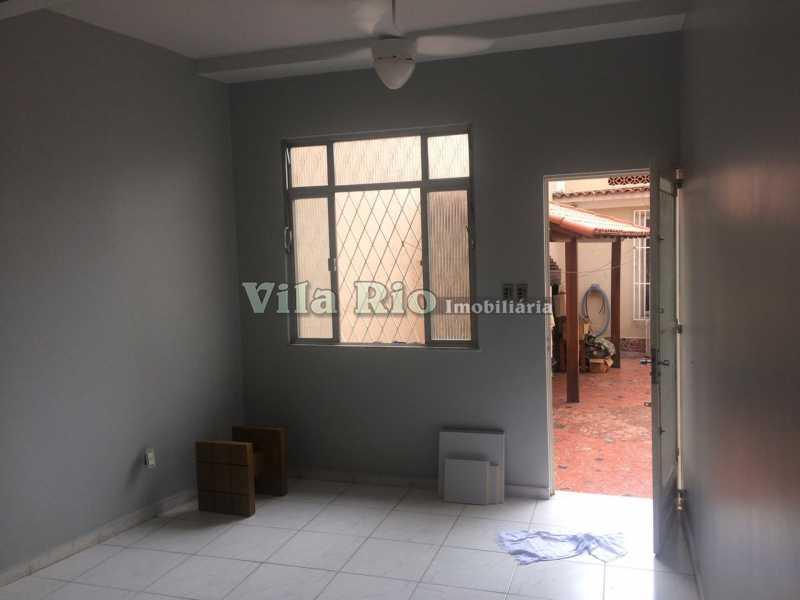 Sala - Casa Vila Kosmos,Rio de Janeiro,RJ À Venda,2 Quartos,110m² - VCA20044 - 1