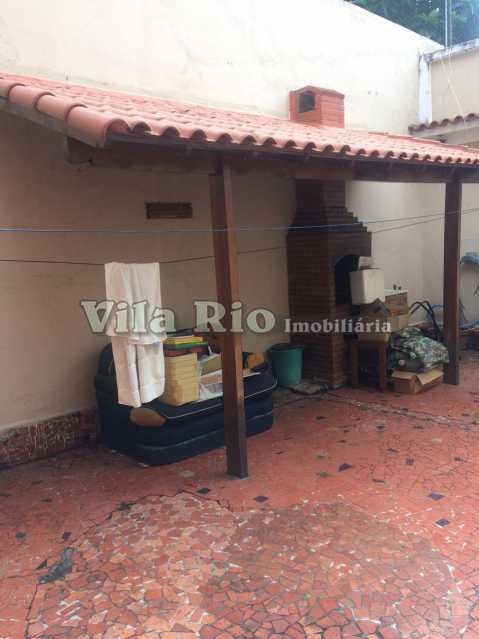 Churrasqueira - Casa Vila Kosmos,Rio de Janeiro,RJ À Venda,2 Quartos,110m² - VCA20044 - 13