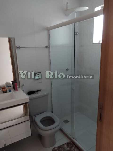 BANHEIRO. - Casa 3 quartos à venda Braz de Pina, Rio de Janeiro - R$ 780.000 - VCA30054 - 16
